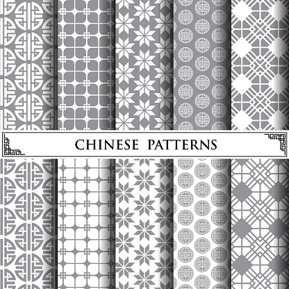 chinese vector pattern,pattern fills, web page background,surfac