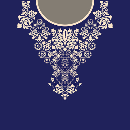 Paisley decorative border