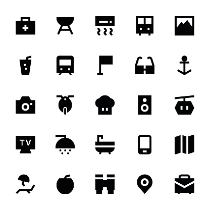 Tourism and Travel Vector Icons 3