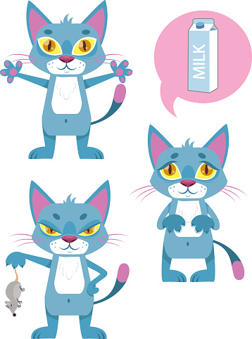 FUNNY CATS CHARACTERS