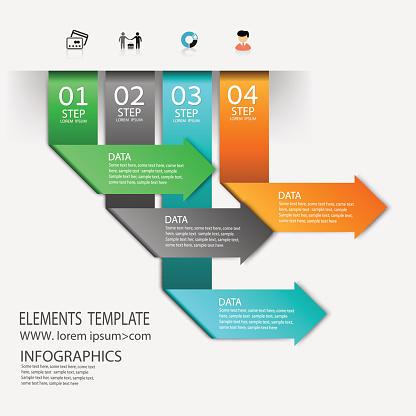 Time line infographic and icons vector design template.