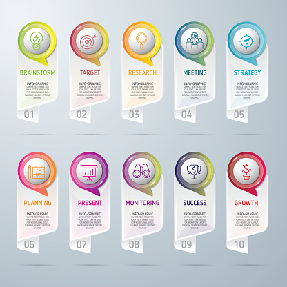Infographic design template and marketing icons, Business concept.