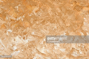 Oil painting light brown  background. Palette knife oil paint.