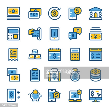 Finance and Payments Vector Icons 2