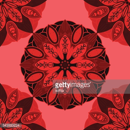 Vector abstract texture and colors . Endless background. Ethnic