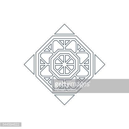Vector lineart ornament