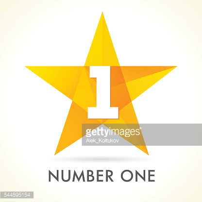 Number one star logo