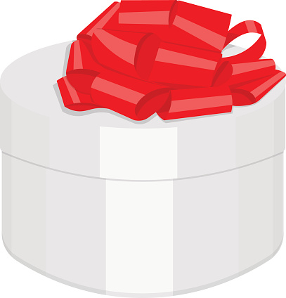 gift box vector illustration isolated on a white background