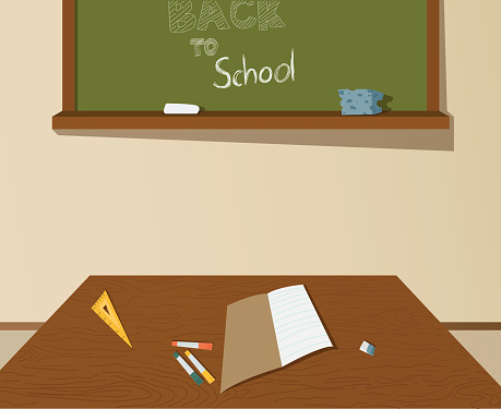 Back to school drawing