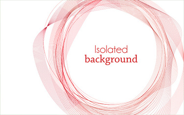Red Abstract Mesh Background with Circles