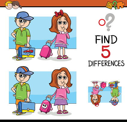 differences activity for children
