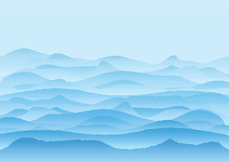 Vector Landscape With Mountains Background Or Wallpaper