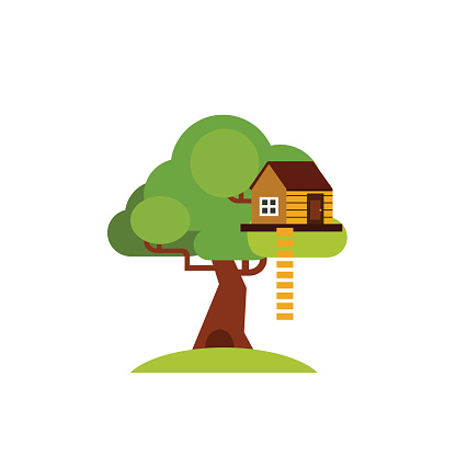 House on Tree for Kids Icon