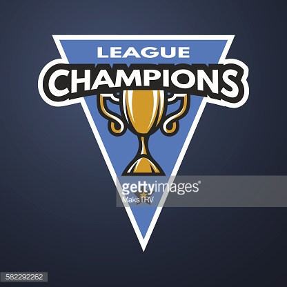 Champion sports league logo, emblem.