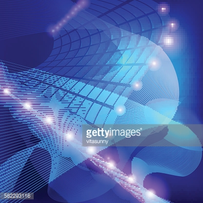 Abstract Fantasy Bright Background