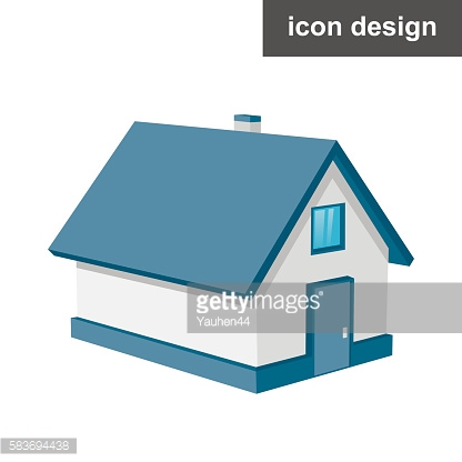 Isometric urban house