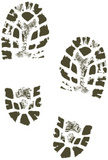 Footprint,Shoe Print,Boot,M...