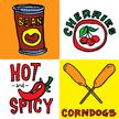 corndog,Chili Pepper,Can,Sc...