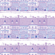 Purple,Town,Outdoors,Vector...
