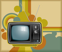 Television Set,1960s Style,...