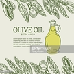 Vector,Homemade,Green Olive Fruit,Leaf,Cooking Oil,Bottle,Olive Oil,Illustration,Square,Olive Branch,Olive Tree,No People,Green Color
