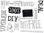 Commercial Sign,Doodle,Mark...