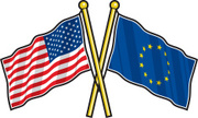 European Union Flag,America...