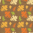 Seamless,Pattern,Autumn,Lea...