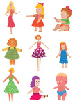 Child,Vertical,Toy,Vector,D...