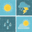 Weather,Sun,Raindrop,Symbol...