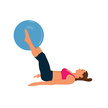 Adult,Fitball,Square,Stabil...