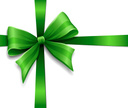 Bow,Bow,Green Color,Gift,Ri...