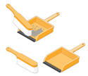 Dustpan,Brushing,Cleaning,I...