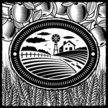 Farm,Woodcut,Field,Wheat,Ag...