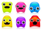 Characters,Emoticon,Blob,Cu...