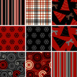 Christmas,Plaid,Pattern,Hol...