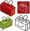 Symbol,Gift,Cheerful,Smilin...