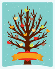 Tree,Bird,Christmas,Snow,Ho...