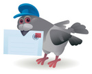 Pigeon,Postal Worker,Mail,D...