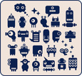 Robot,Toy,Alien,Cute,Cartoo...