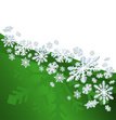 Snowflake,Backgrounds,Green...
