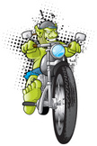 Motorcycle,Biker,Monster,Tr...