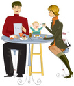 Baby,Eating,Mother,Feeding,...