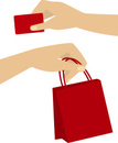 Buying,Cards,Shopping Bag,E...
