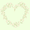 Heart Shape,Flower,Frame,Ro...