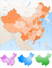 China - East Asia,Map,Asia,...