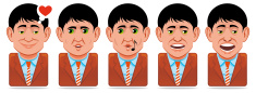 Facial Expression,Icon Set,...