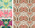Wallpaper,Seamless,Pattern,...