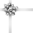 Bow,Bow,Gift,Silver Colored...