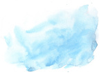 Watercolor Painting,Blue,Ab...